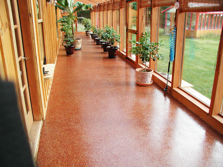 Chemical Resistant Chip Flooring Picture
