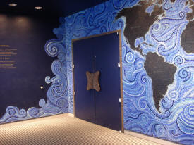 Matagascar Glass Tile Mural at the Bronx Zoo in NY done in Epoxy.com Product #225 - Click to Enlarge